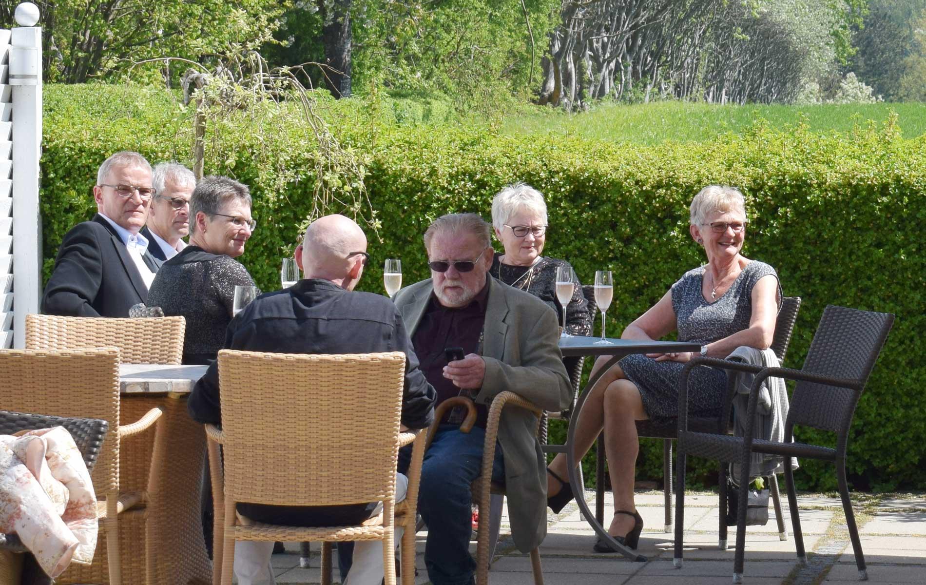 Vester Skerninge kro Terasse 2017